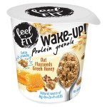 Wake Up Protein Granola owies & miód & płatki lnu 70g - Feel FIT