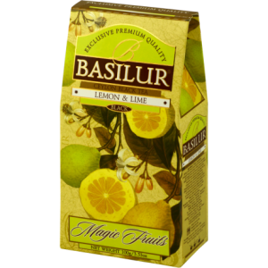 Herbata lemon & honey  stożek 100 g Basilur