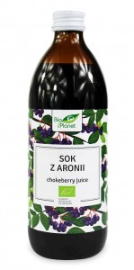Sok z aronii BIO 500ml - Bio Planet