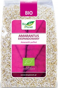 Amarantus Ekspandowany BIO 100g - Bio Planet
