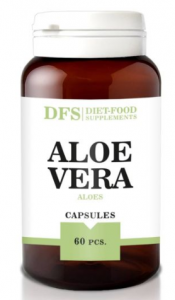 Aloes 500mg 60 kapsułek 30g - Diet Food