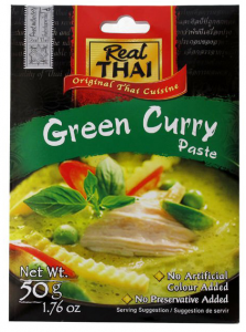 Pasta Curry zielona 50g - Real Thai