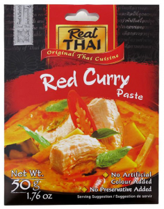 Pasta Curry Czerwona Red 50g - Real Thai