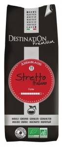 Kawa Stretto mielona BIO 250g - Destination