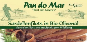 Anchois (Sardele) w Oliwie z Oliwek BIO 50g - Pan do Mar