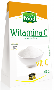 Witamina C Lewoskrętna 200g - Look Food