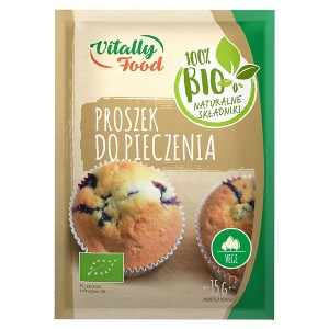 Proszek do Pieczenia BIO 15g - Vitally Food