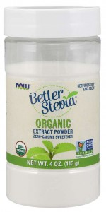 Better Stevia Extract Powder BIO 113g - NOW Foods
