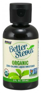 Stewia w Płynie Better Stevia Liquid BIO 59ml - NOW Foods