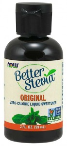 Better Stevia Liquid Original 59ml - NOW Foods