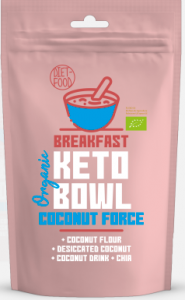 Śniadaniowy Keto Bowl Coconut Force BIO 200g - Diet Food