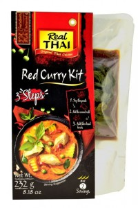 Zestaw Czerwone Curry Red Curry 232g - Real Thai