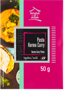 Pasta Korma Curry Łagodna 50g - House of Asia