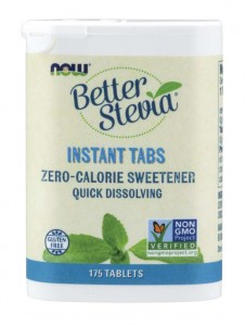 Stewia w Tabletkach Better Stevia Instant Tabs 175 Tabletek - Now Foods