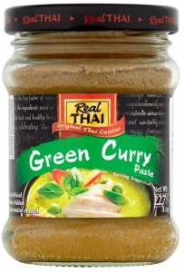 Pasta Curry Zielona Green 227g - Real Thai