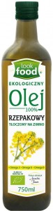 Olej Rzepakowy BIO 750ml - Look Food