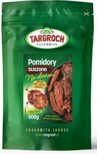 Pomidory Suszone 500g - Targroch