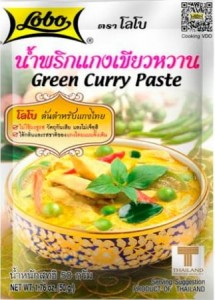 Pasta Green Curry Zielone Curry 50g - Lobo