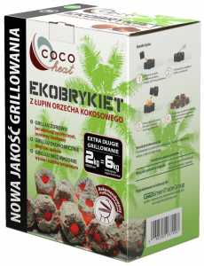 COCOheat Ekobrykiet do Grillowania 2kg - Coco Farm