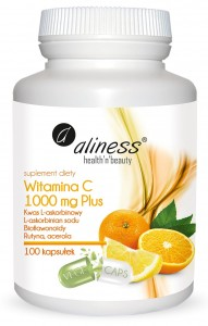 Witamina C 100mg Plus 100kaps. Vege Aliness