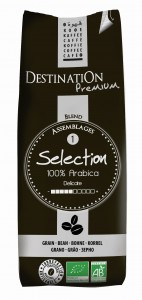 Kawa Sélection Ziarnista 100% Arabica BIO 250g - Destination