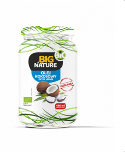 Olej kokosowy extra virgin BIO 480ml - Big Nature