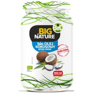 Olej kokosowy extra virgin BIO 900ml - Big Nature
