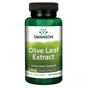 Olive Leaf Extract 500mg 60 kaps - SWANSON