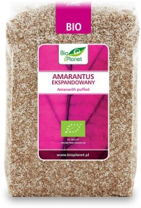 Amarantus Ekspandowany BIO 150g - Bio Planet