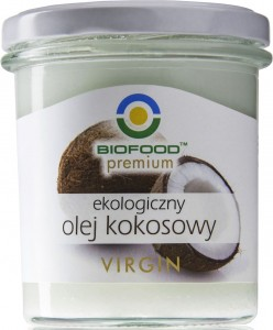 Olej kokosowy virgin BIO 260g - Bio Food