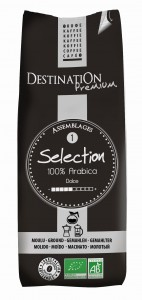 Kawa 100% arabica Selection mielona BIO 250g - Destination